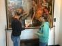 Visite du musée communal archéologique de Nivelles (1ère A, B, C), dans le cadre du cours d'histoire.